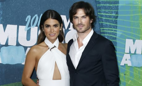 Ian Somerhalder and Nikki Reed at the CMT Awards