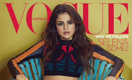 Selena Gomez on Australian Vogue