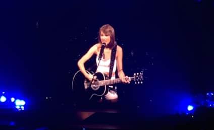 "Taylor Swift Surprises Fans, Plays ""Ronan"" in Concert"