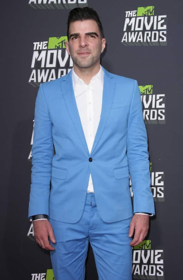 Zachary Quinto at MTV Movie Awards