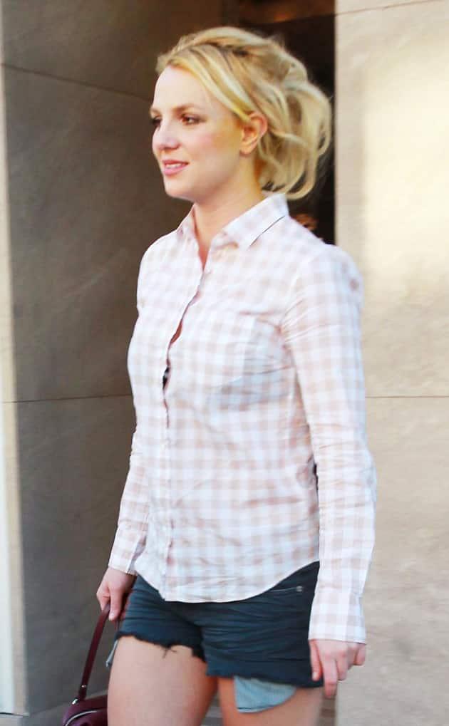 Britney Spears, Short Shorts
