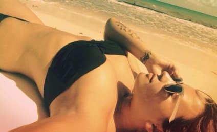 Demi Lovato Shows Off Bikini Body, Accidentally Silver Hair
