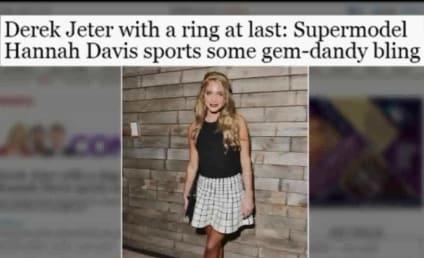 Derek Jeter: Engaged to Hannah Davis?