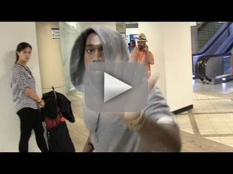 Kanye West Screams at Cameraman