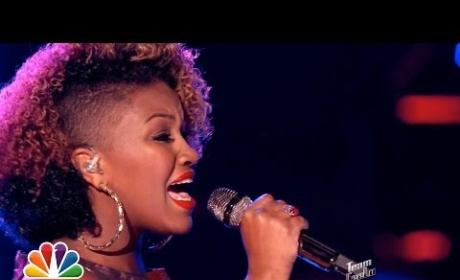 """Amber Nicole: """"Wasting All These Tears"""" - The Voice"""