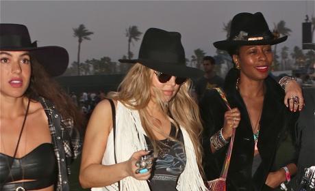 Fergie at Coachella
