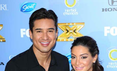 Mario Lopez, Courtney Mazza Picture