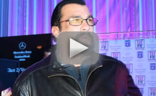 Steven Seagal: Female Journalists Are Dumb B--ches