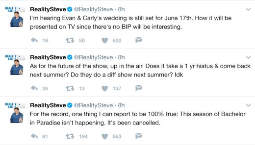 steve tweets