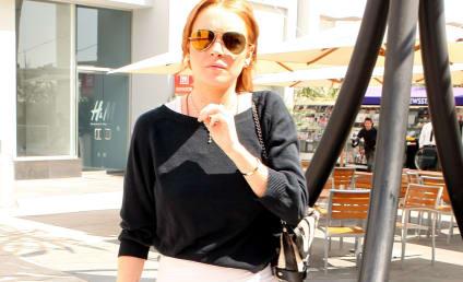 Lindsay Lohan to Ankle Monitor: Scram, Loser!