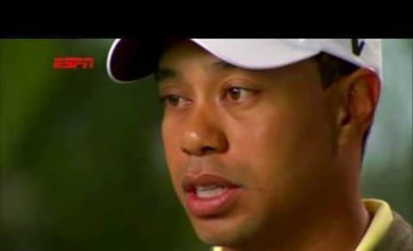 Tiger Woods ESPN Interview