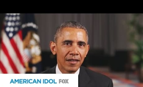 President Obama Addresses American Idol Viewers