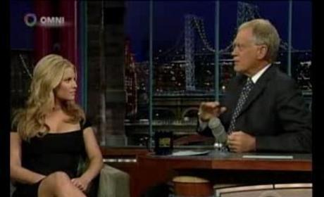 Jessica on Letterman