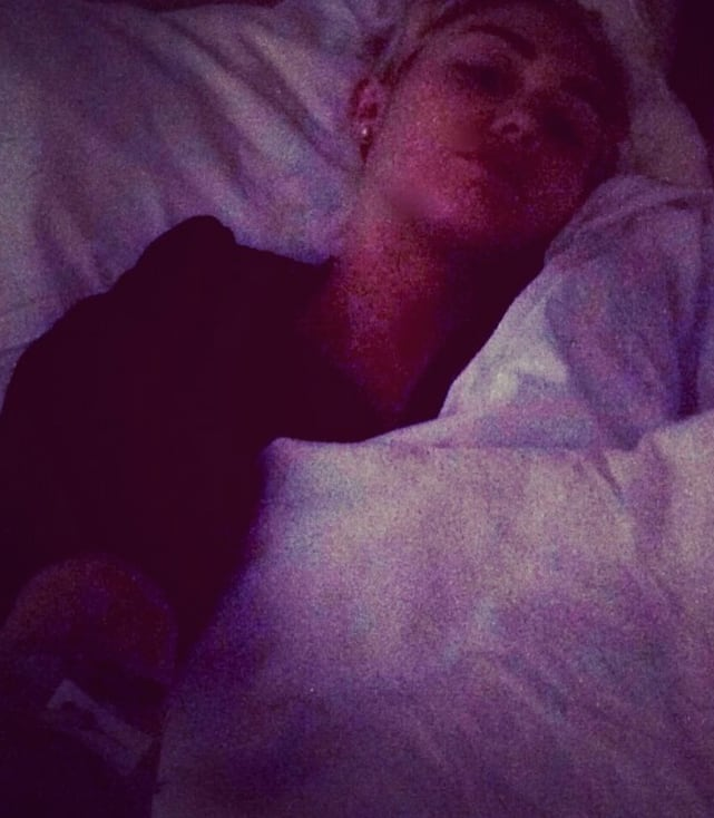Miley Cyrus Hospital Pic