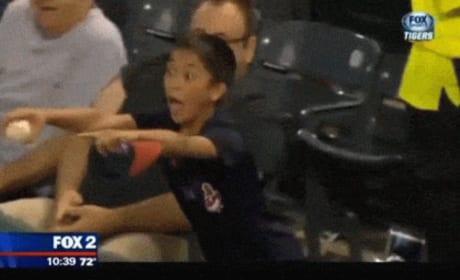 Fan Heckles Miguel Cabrera, Gets Awarded with Bat