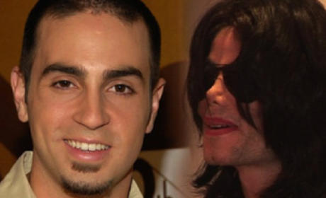 Wade Robson and MJ