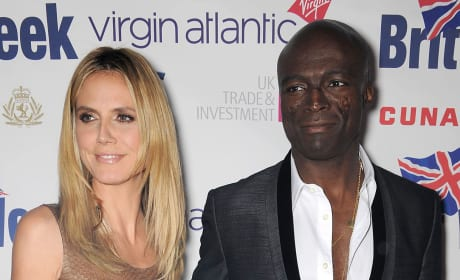 Heidi and Seal Pic