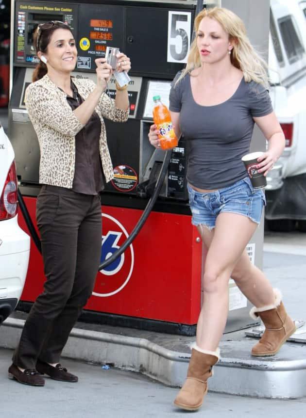 Gawking at Britney
