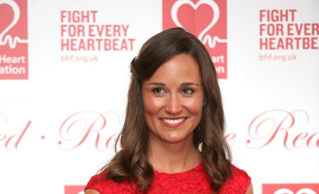 Pippa Middleton in Red Dress