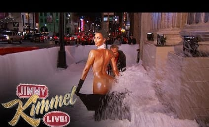 Jimmy Kimmel Turns Kim Kardashian Nude Photo Into a Snowblower