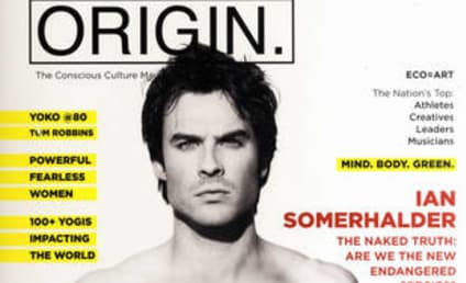 Ian Somerhalder: Shirtless for Origin!
