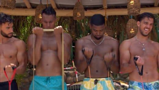 Bachelor in Paradise Season 7 sneak peek - resistance training in paradise