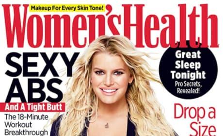 Jessica Simpson Women's Health Cover