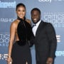Kevin Hart and Eniko Parrish, in Black