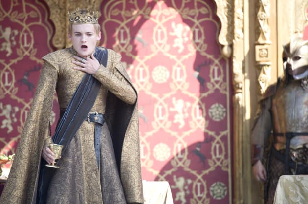 King Joffrey: Poisoned!