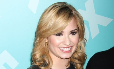 Demi Lovato Promotes The X Factor