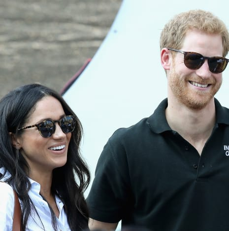 Prince Harry and Meghan Markle Pictured Together