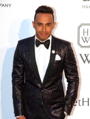 Lewis Hamilton at Cannes Film Festival