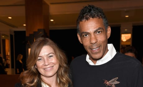 Ellen Pompeo with Chris Ivery