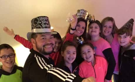 Jon Gosselin New Year's Eve Photo