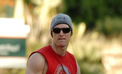 McConaughey, Armstrong Sweat it Out; Ladies Swoon