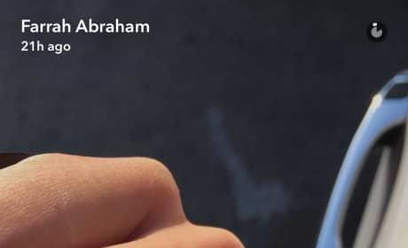 Farrah Abraham Diamond Ring