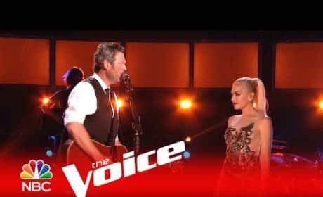 Gwen Stefani and Blake Shelton Perform New Duet, Eye-Bang Each Other