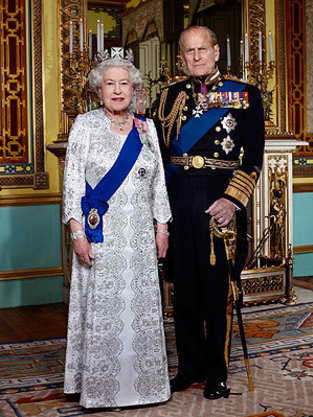 Queen Elizabeth II, Husband
