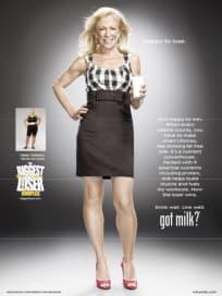 Helen Phillips Got Milk Ad
