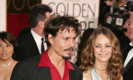 Depp and Vanessa Paradis