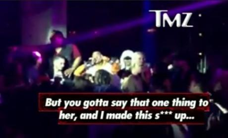 Chris Brown Rant on Stage