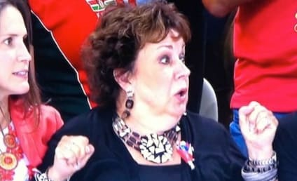 Michael Phelps' Mom Reacts to Second-Place Finish