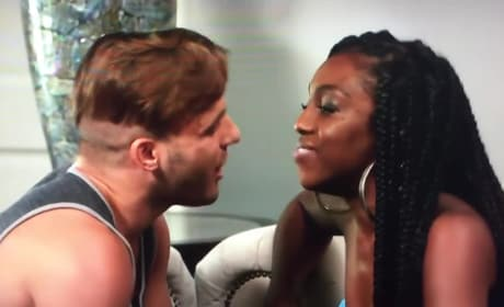 Paulie Calafiore & Da'Vonne Rogers Fight On Big Brother