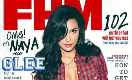Naya Rivera Sizzles in FHM