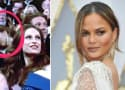 Chrissy Teigen Falls Asleep at Oscars, Is All of Us