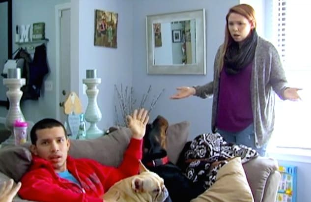 Kailyn and javi arguing