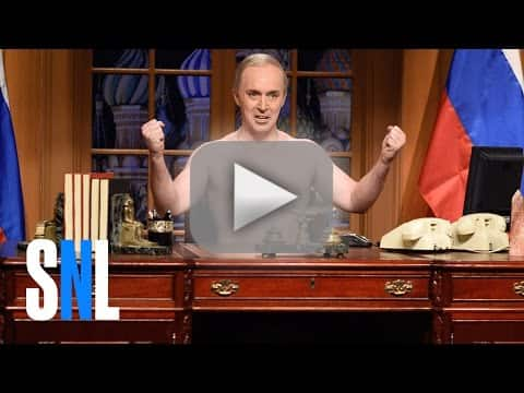 Saturday night live offers putins perspective on trumps inaugura