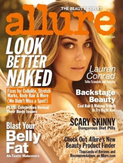 Lauren Conrad Allure Cover