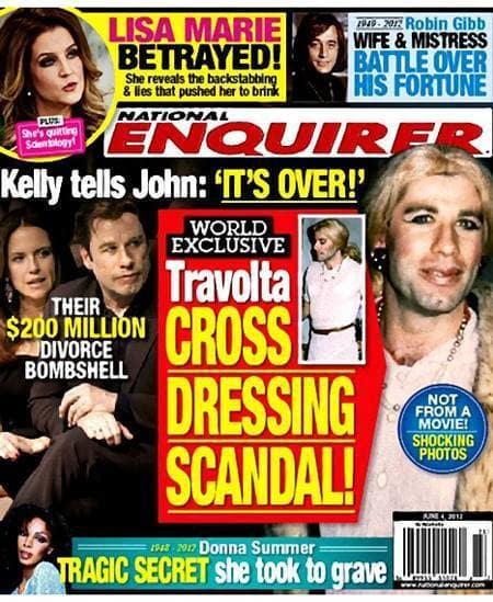 John Travolta Cross Dressing