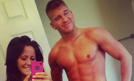 Nathan Griffith and Jenelle Evans Half-Naked